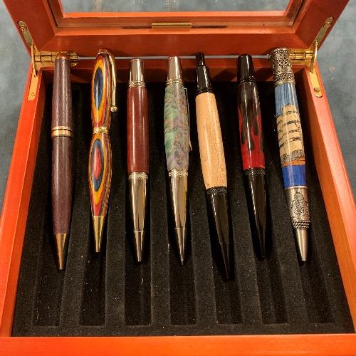 Class Image Begin to Turn: Pens