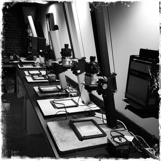 Class Image B. An Introduction to Darkroom Photography
