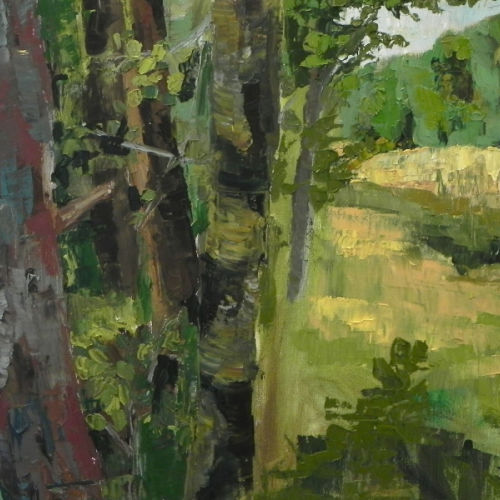 Class Image Introduction to Oil Painting