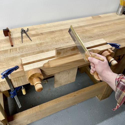 Class Image F. Traditional Hand Tools Series: Moxon Vise
