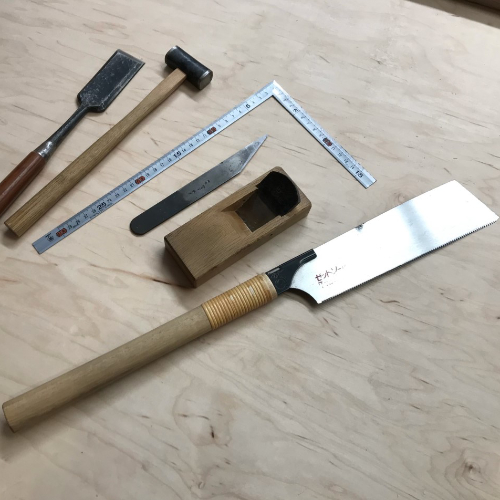 Class Image Introduction to Japanese Hand Tools