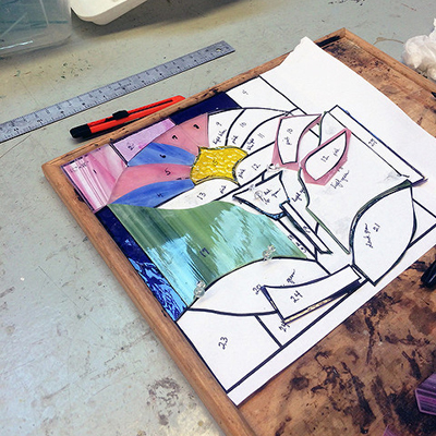 Class Image Stained Glass and Mosaics - Your Choice!