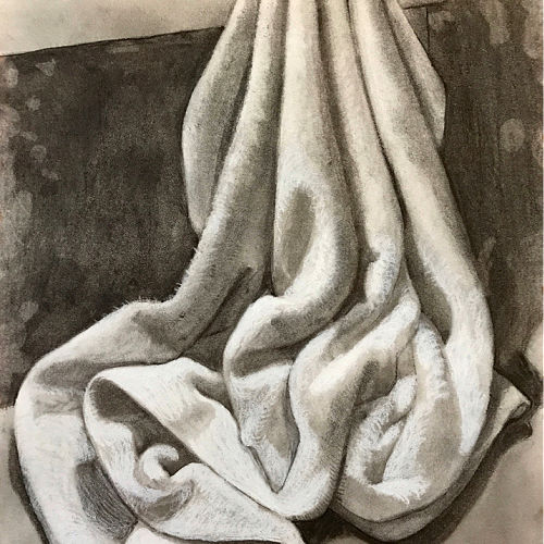 Class Image Drawing from Still Life Workshop