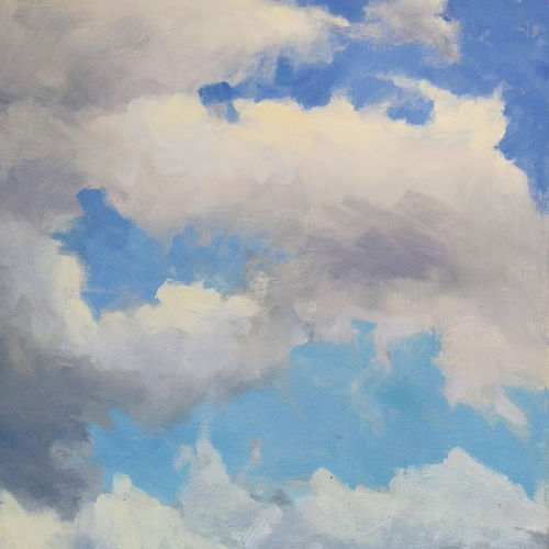 Class Image ONLINE Demo: Painting Clouds with Viktoria Majestic
