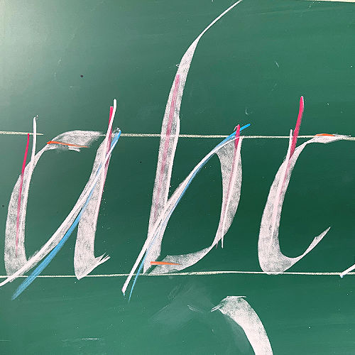 Class Image ONLINE: Intro to Calligraphy Part I