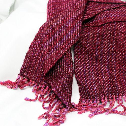 Class Image Beginning Weaving: Weekend Scarf