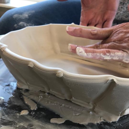 Class Image Intermediate and Advanced Ceramics