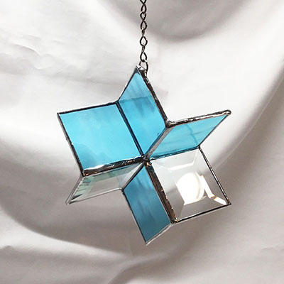 Class Image NEW! 5525. Stained Glass Spinner Workshop