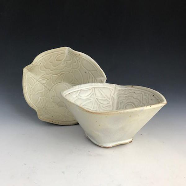 Class Image Taste of Art Ceramics - Pair of Cereal Bowls
