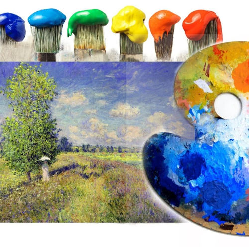 Class Image ONLINE Teen- Learn to Paint *Intensive*