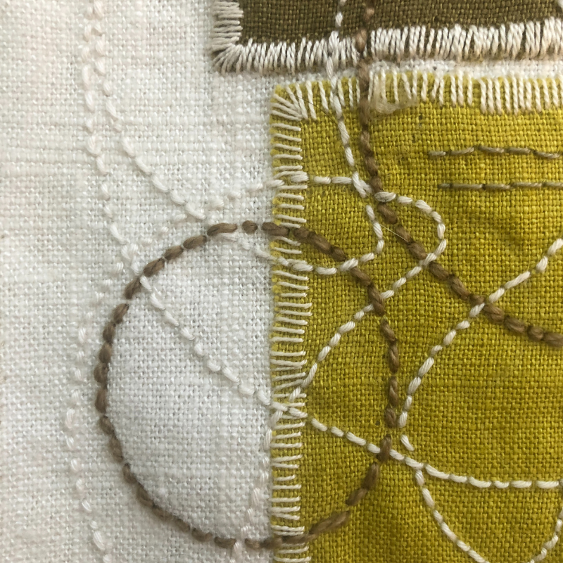 Class Image ONLINE Slow Stitching and Mindful Making