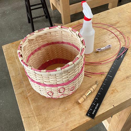 Class Image Rita's Pink Ribbon Basket