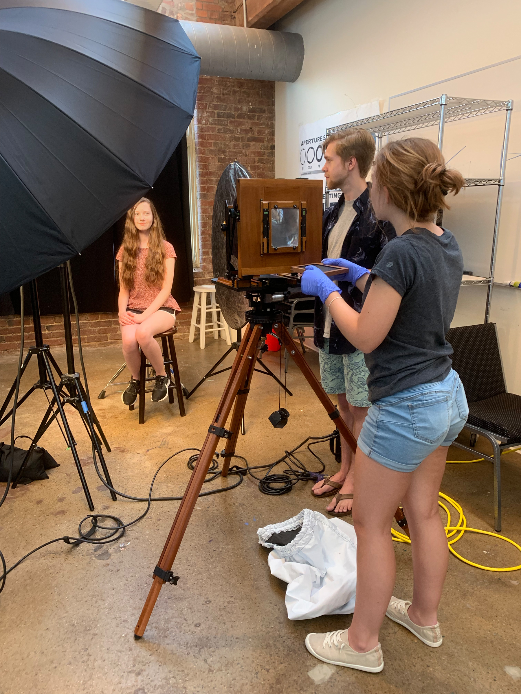 Class Image Teen Takeover: Intro to Wet Plate Photography