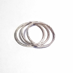 Class Image Taste of Art - Stackable Hammered Rings!