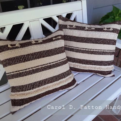 Class Image Striped Pillow Sampler