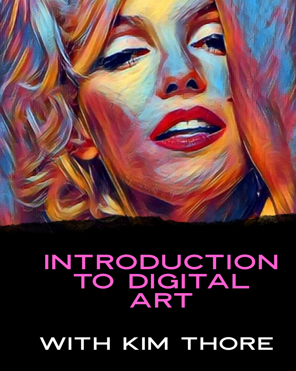 Class Image Introduction to Digital Arts w/ Kim Thore