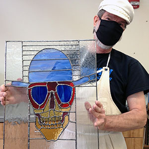 Class Image Independent Stained Glass Studio Usage